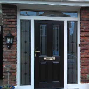 Our timber frame and composite door sash is the most popular front door. Strong and secure, our range of front doors offer designs to suit both contemporary and traditional builds.