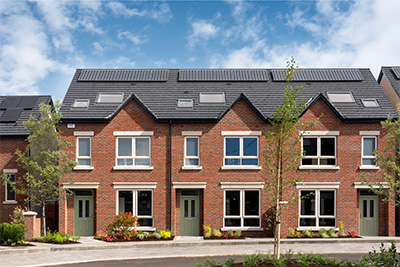 New build housing development window supplier