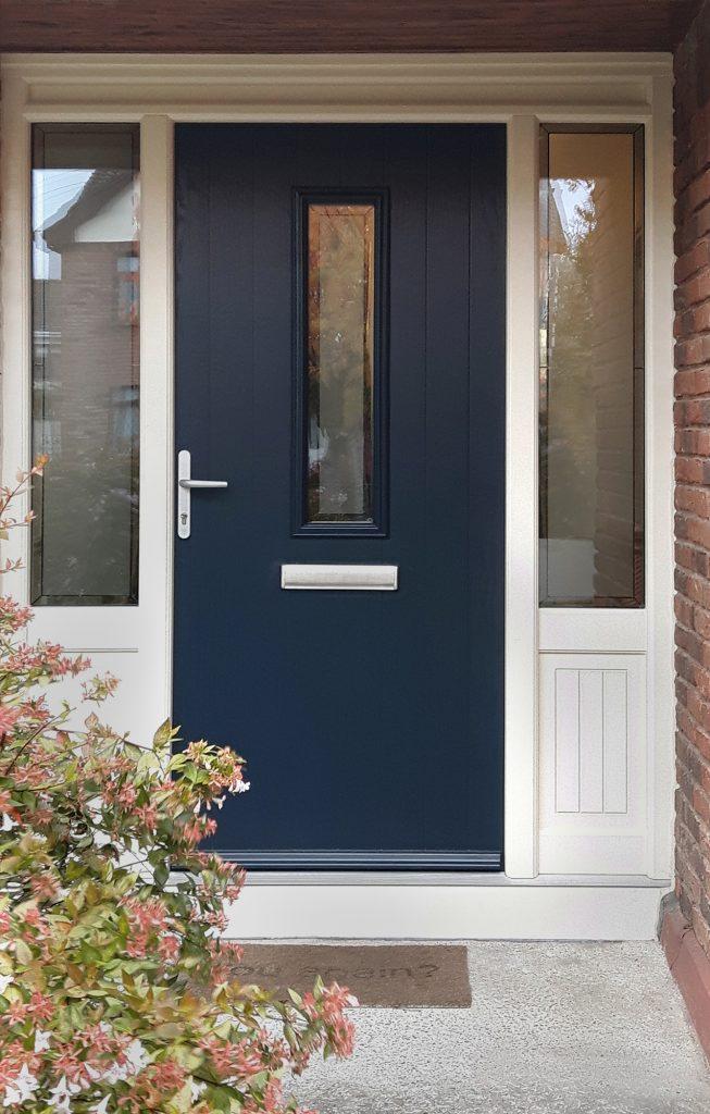 Grady Joinery, Fredrick Door in Grey Blue