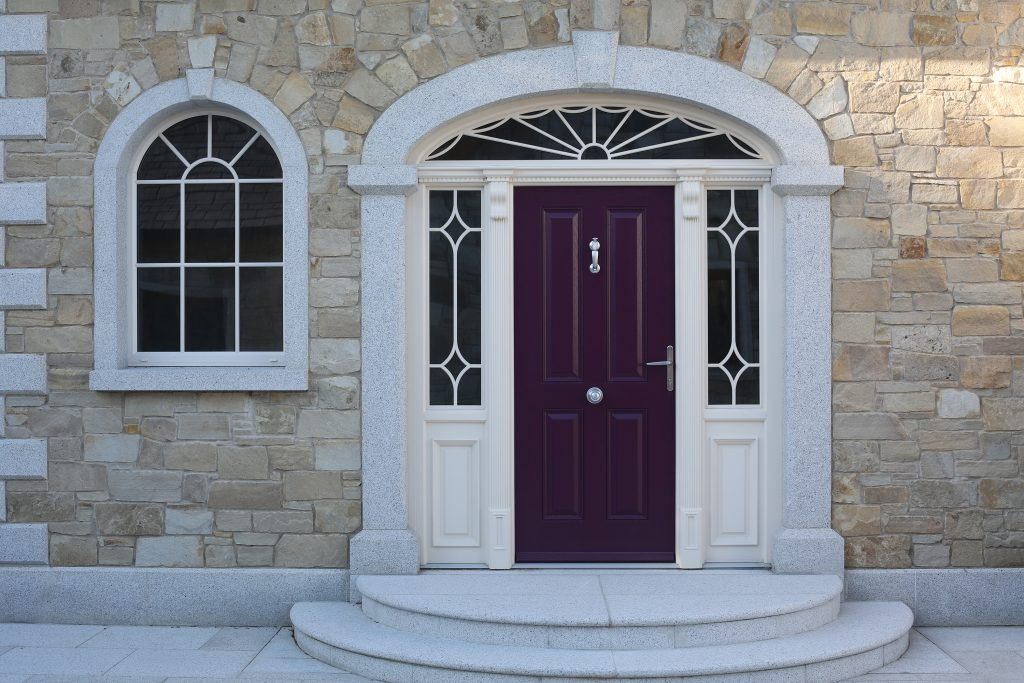 Oakley Door in Violet Purple RAL 4007