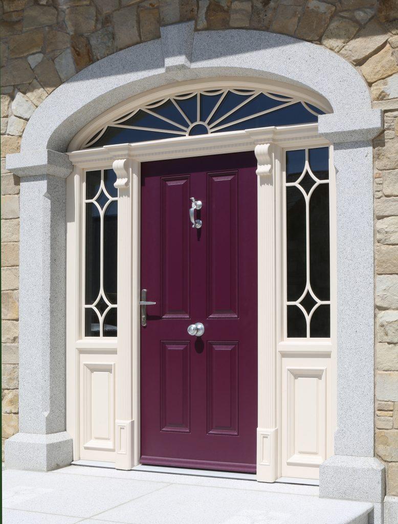Grady Joinery, Oakley door in Violet / Purple
