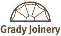 Grady Joinery logo brown