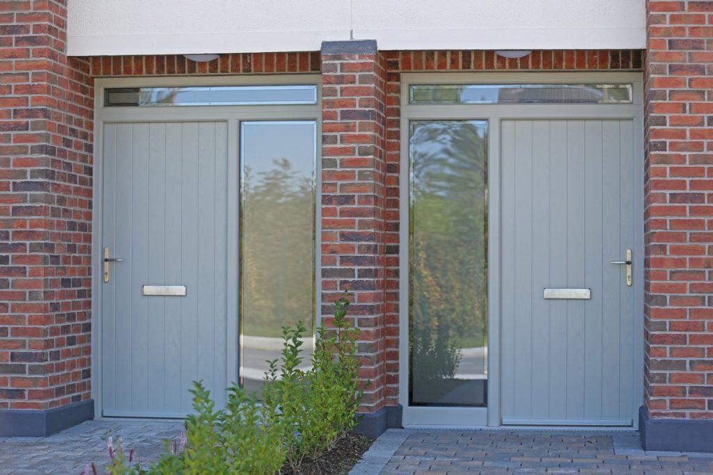 Slane Door in Agate Grey