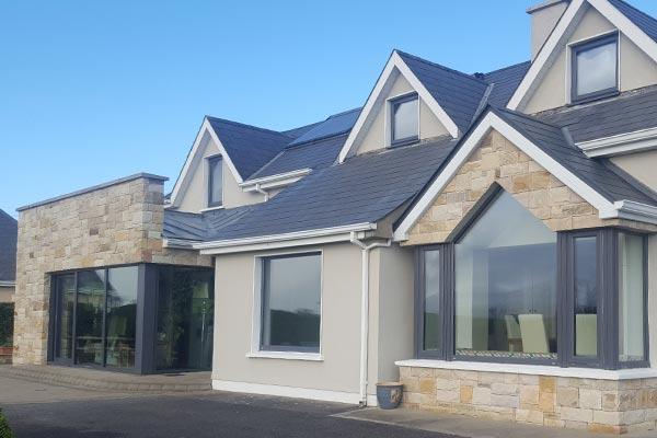 New build aluminium windows and doors